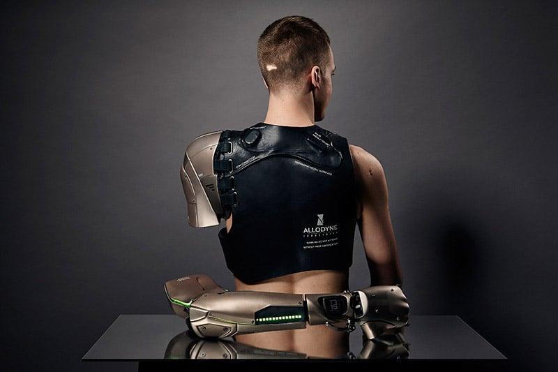 Muskeln in der Schulter steuern die Hand. (Foto: Sophie De Oliveira Barata)