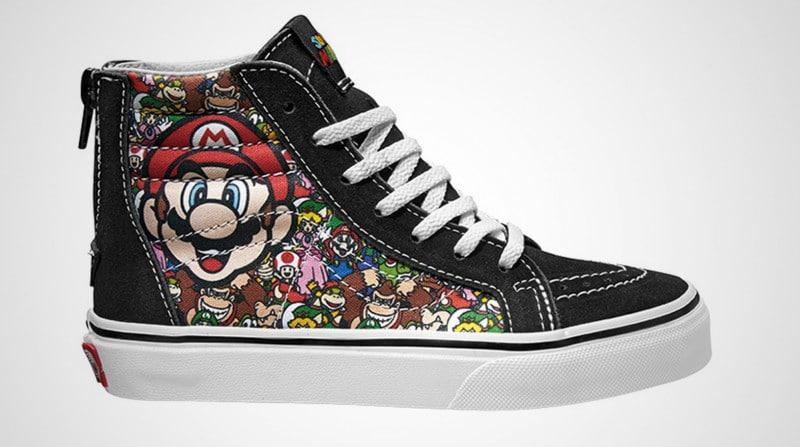 Mario für die Füße. (Foto: Vans)
