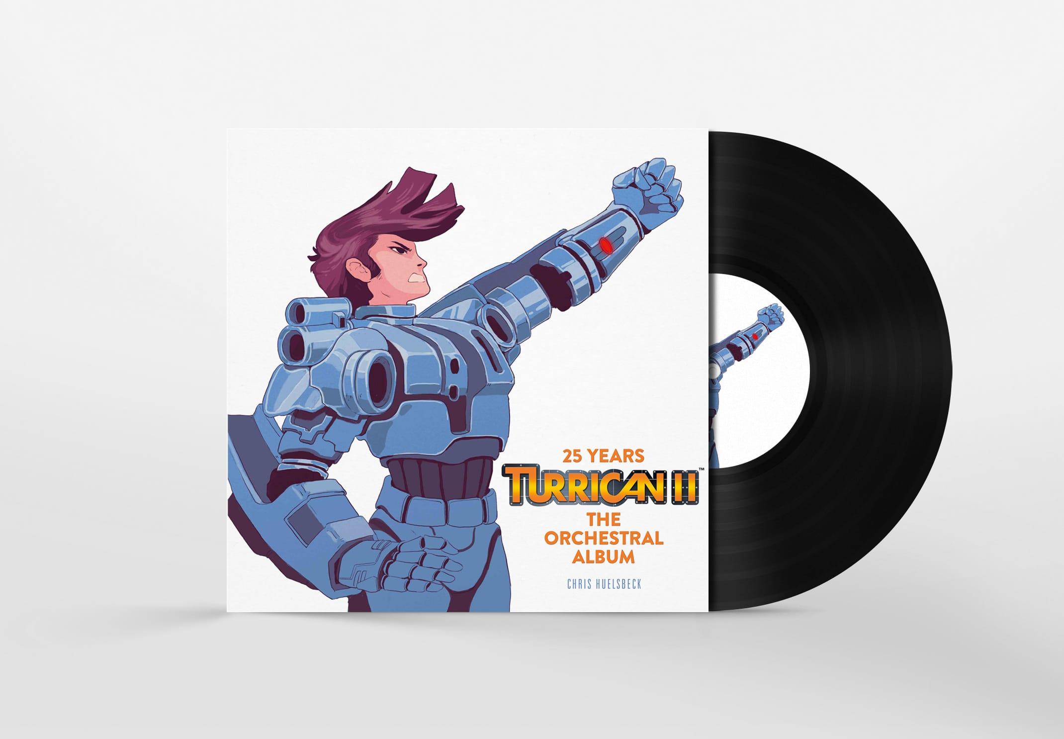Turrican II bald (wieder) auf Platte und CD? (Foto: Chris Hülsbeck)