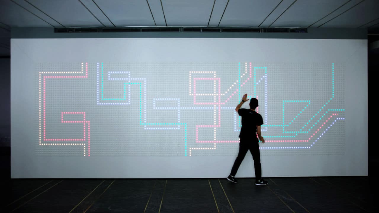Interaktive Pixel-Displays. (Foto: Google)
