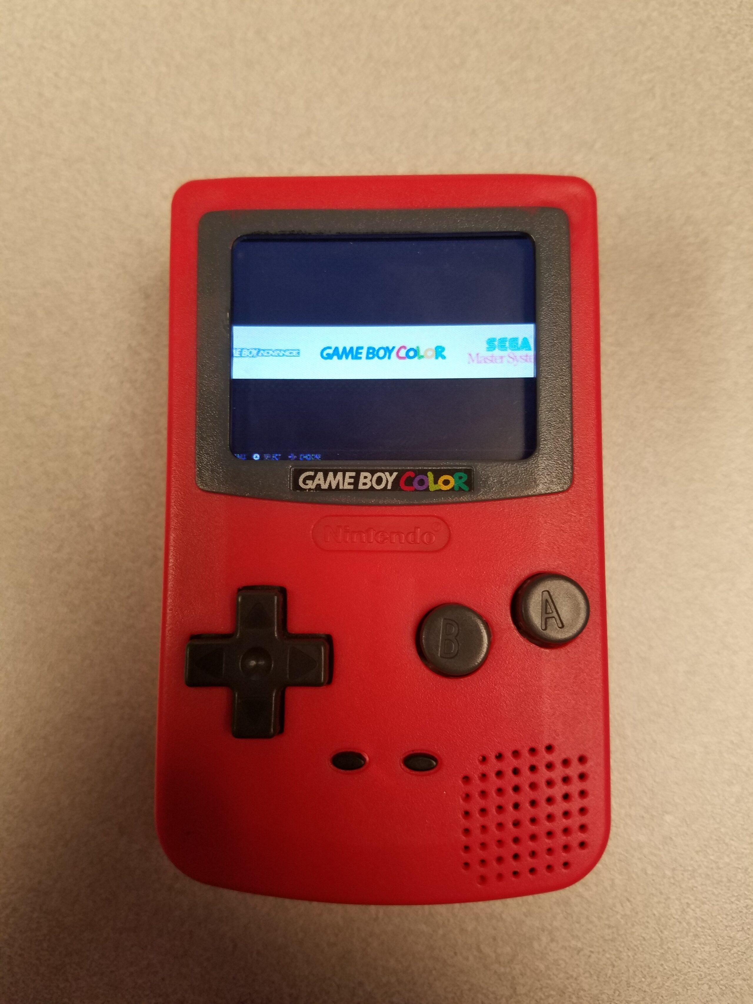 Der Gameboy Color wird emuliert. (Foto: Chase Lambeth)