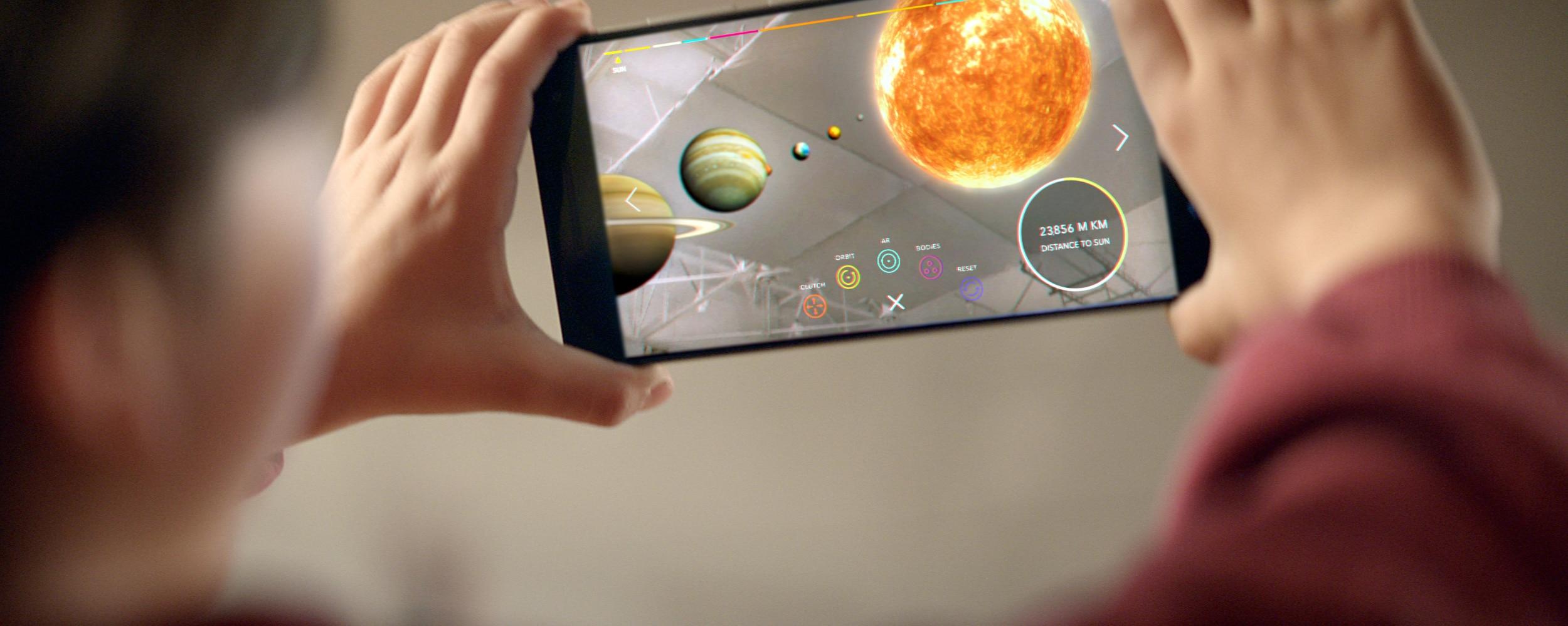 Virtual Reality und Augmented Reality werden auf mobilen Geräten besser. (Foto: Google)