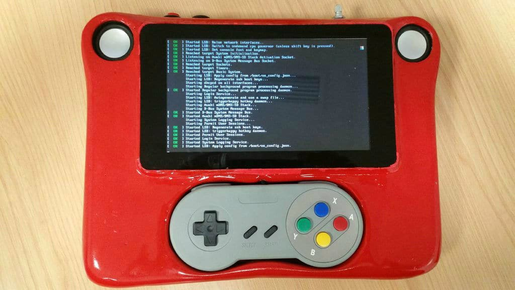 Linux läuft auf dem Tablet. (Foto: Instructables)