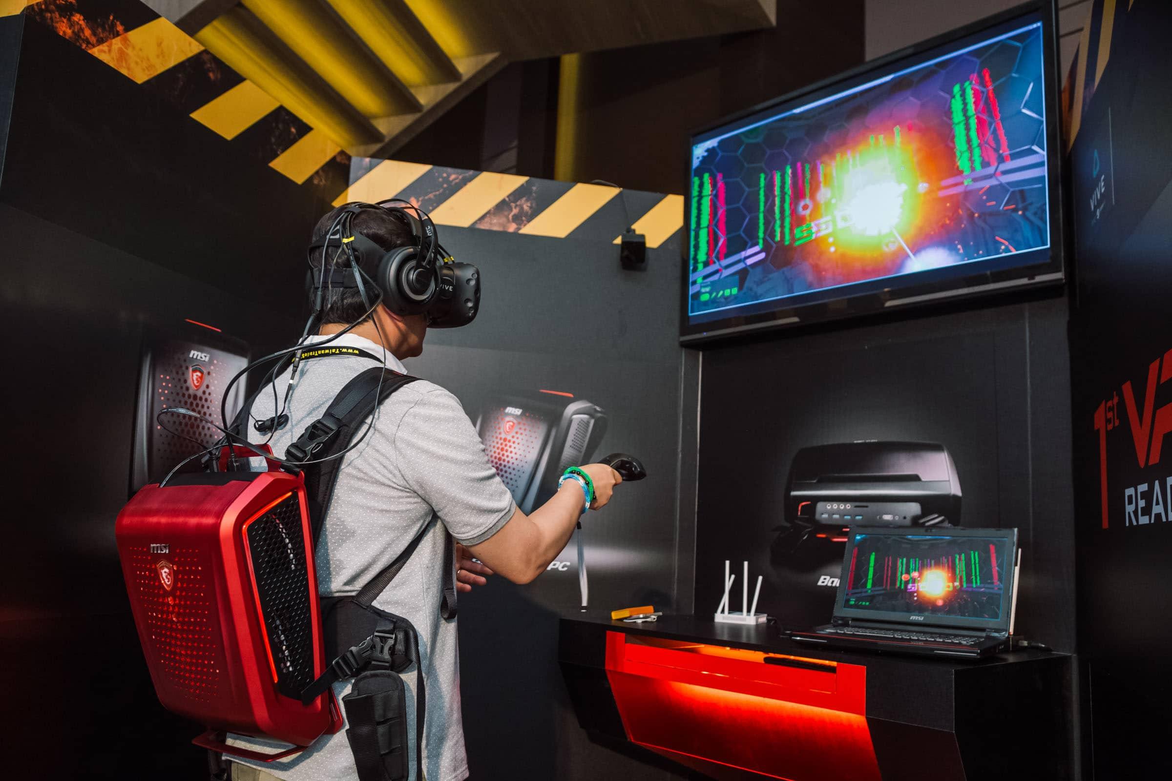 Egal, was Hersteller für AR/VR produzieren - Microsoft möchte dabei sein. (Foto: MSI)