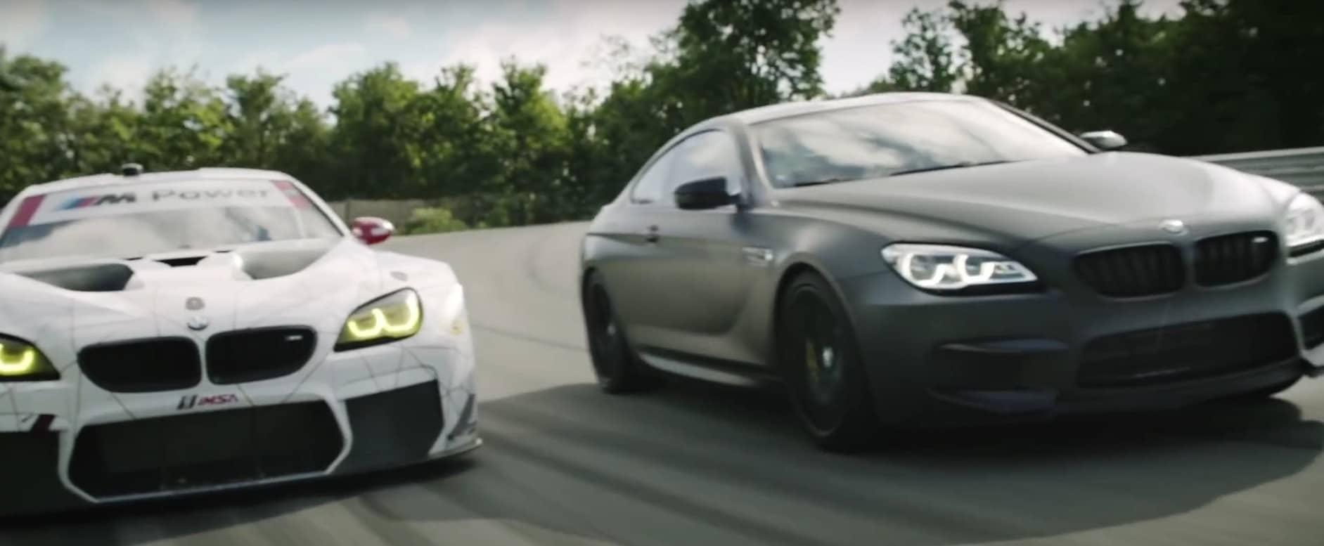 Diese echten Autos werden ferngesteuert. (Foto: Screenshot / BMW)