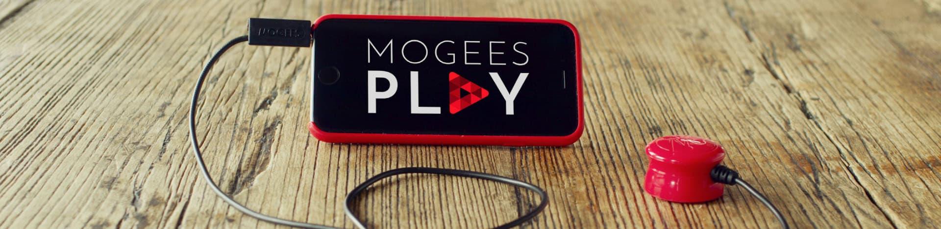 Smartphone und das kleine Teil genügen... (Foto: Mogees)