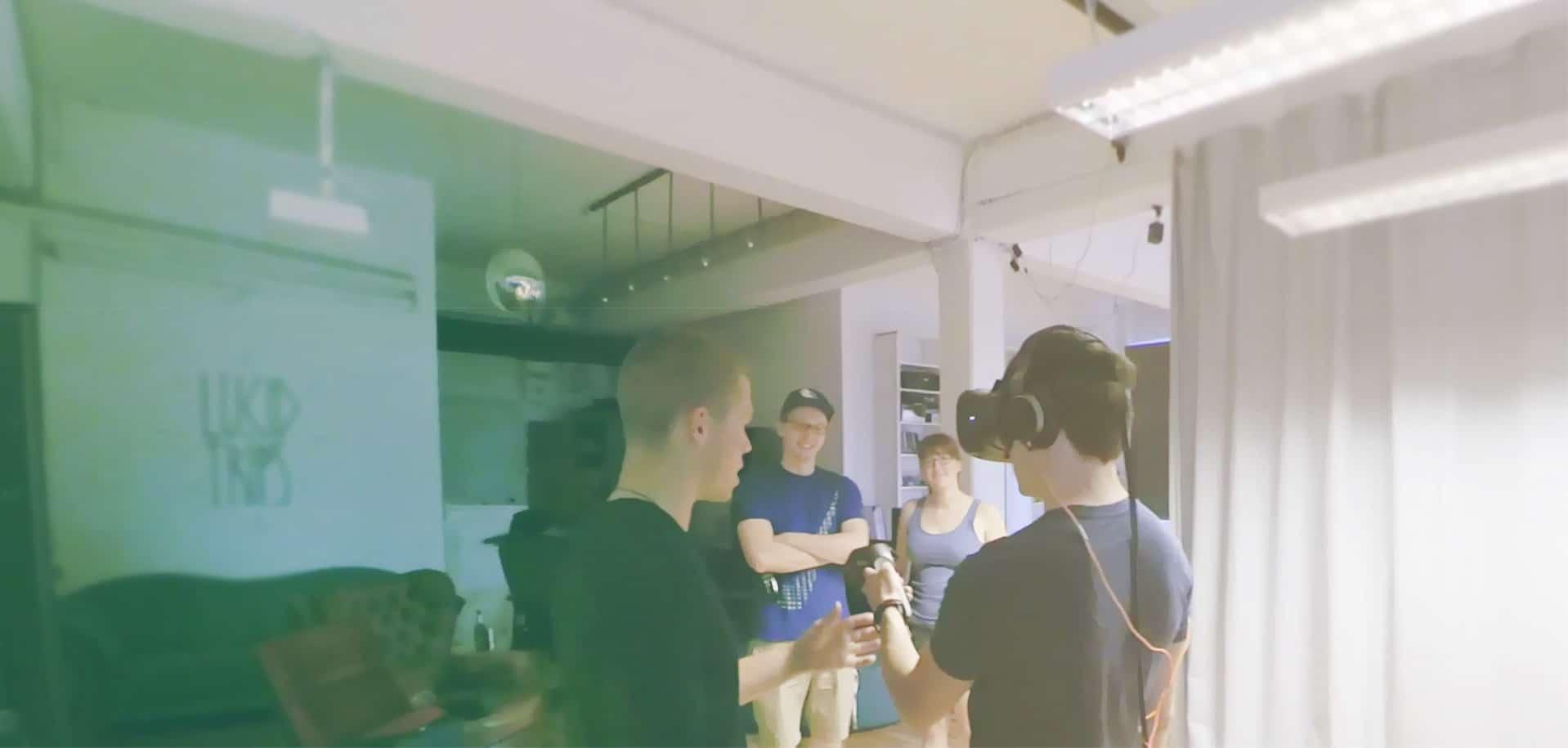 Auch die Leute von den VR Nerds bieten ihre Räumlichkeiten an. (Foto: NearbyVR)