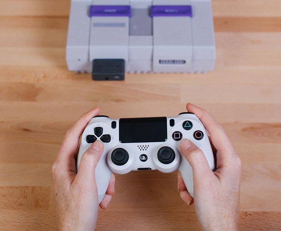 PS4-Controller an SNES verwenden. (Foto: 8Bitdo)