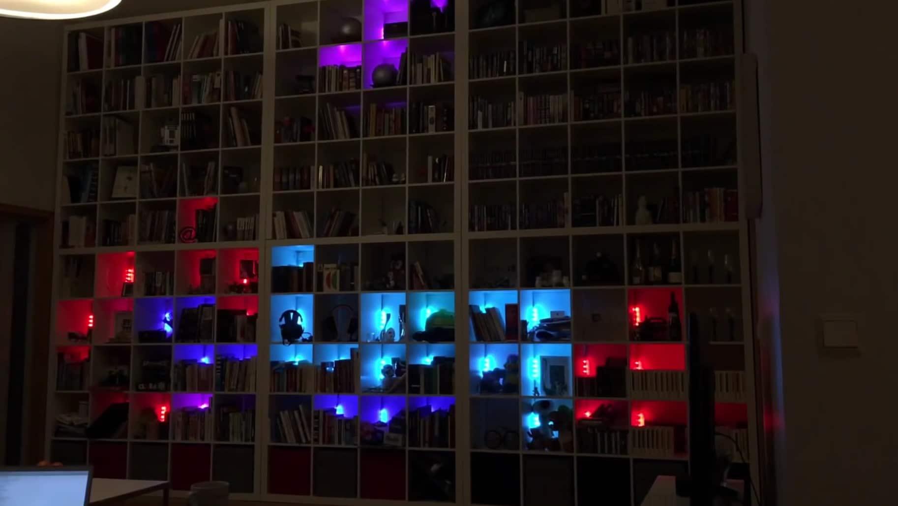 Ein schön großes Spielfeld. Für Tetris. (Foto: Screenshot)
