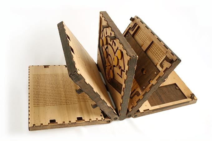 Das ist ein Rätselbuch. (Foto: Codex Silenda)