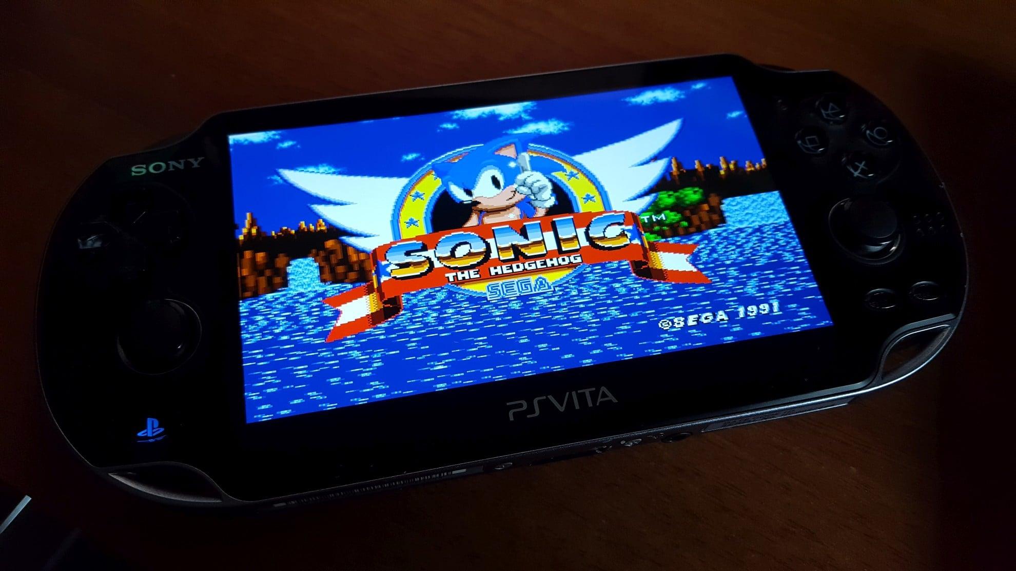Das ist die emulierte Version von Sonic auf der PS Vita. (Foto: GamingGadgets.de)