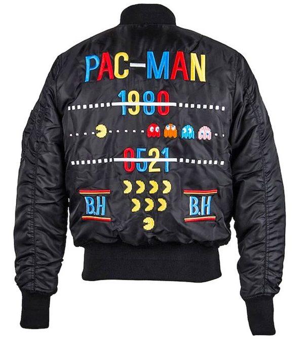 Pac-Man: Martialische Bomberjacke und pixelige Taschen