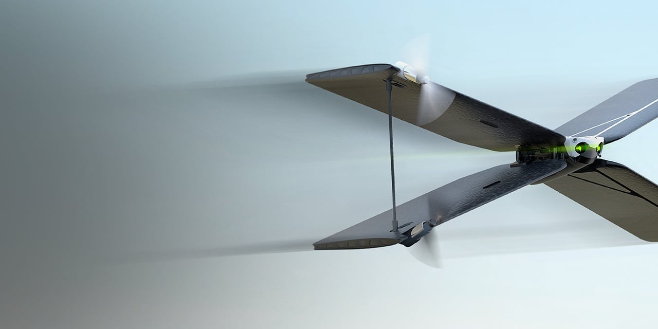 Ein X-Wing? (Foto: Parrot)