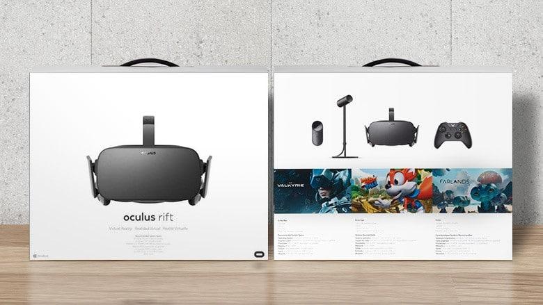 Verpackung und Handbuch sind in Deutsch. (Foto: Oculus VR)