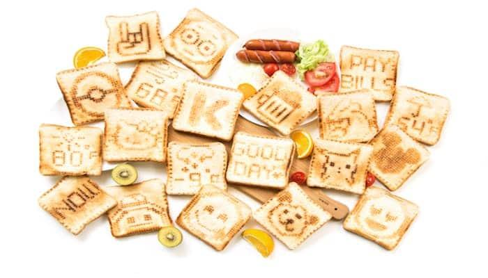 Toasteroid: Brennt eure gemalten Kunstwerke aufs Brot