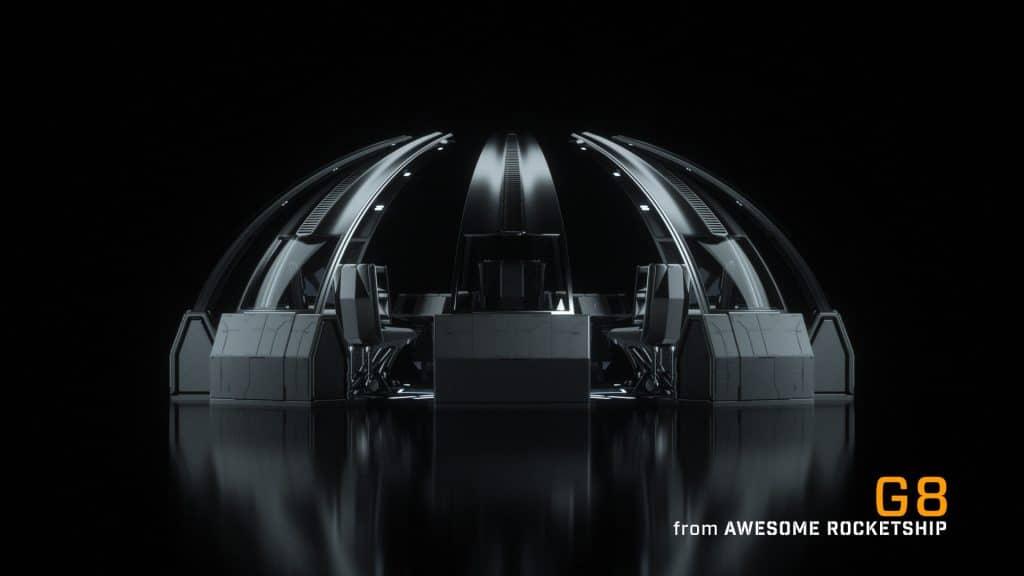 Die Multiplayer-Variante mit acht zusammengestellten Geräten. (Foto: Awesome Rocketship)