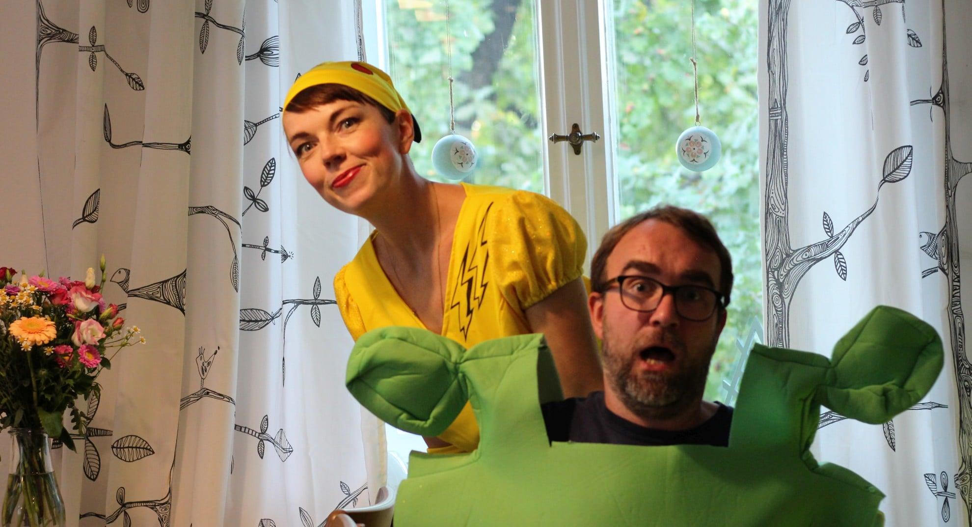 Kostüme testen. Ohje. (Foto: Sven Wernicke / GamingGadgets.de)