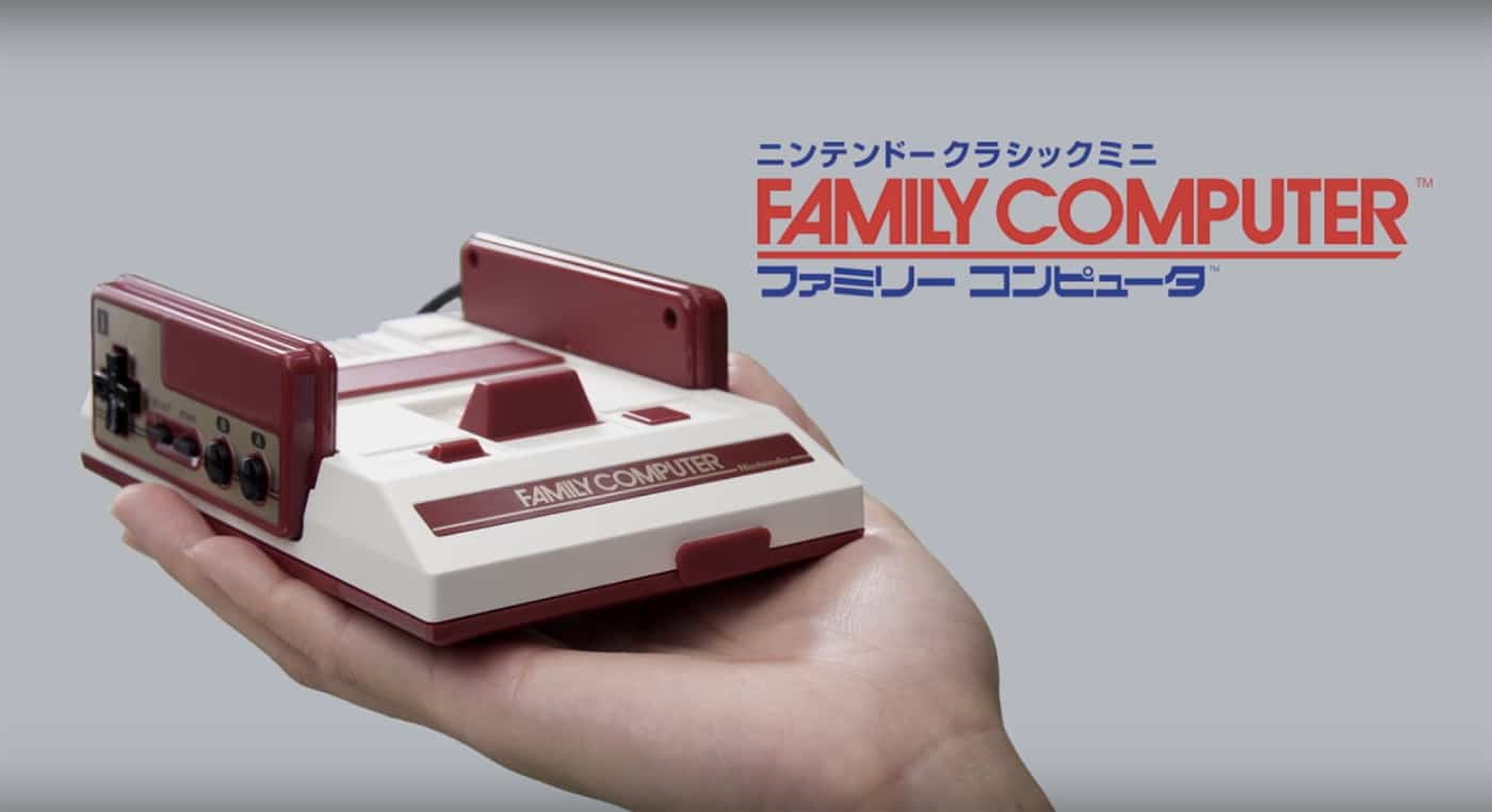 Nintendo Classic Family Computer: Mini Famicon: Japanisches NES als Schrumpf-Konsole