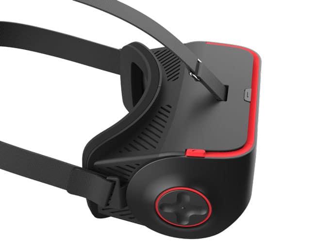 Controller-Komponenten an der Seite? Wie bei der Gear VR. (Foto: Qualcomm)