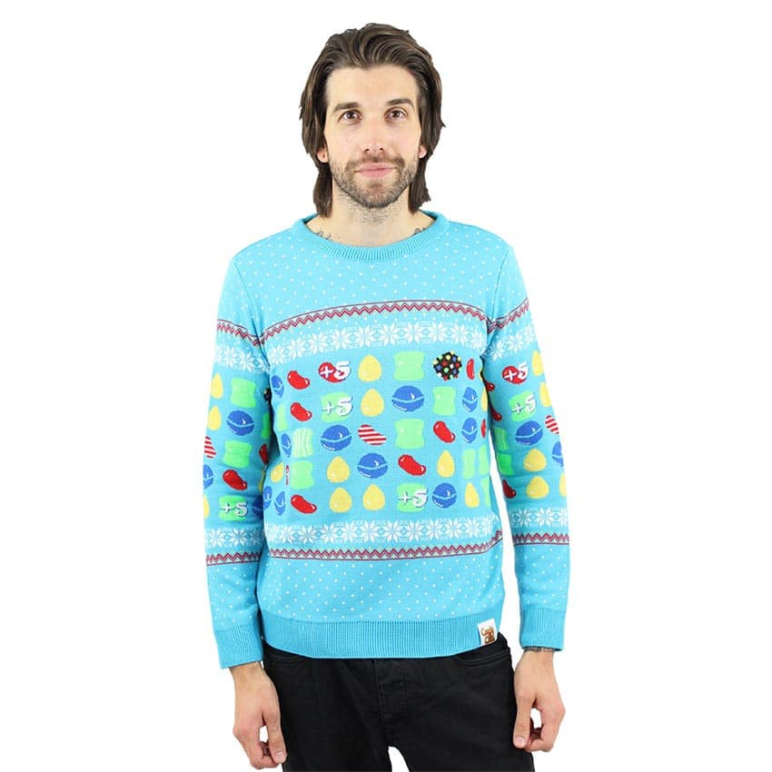 Christmas Jumper: Candy Crush, Pac-Man, Fallout und Marvel-Helden als Weihnachts-Pullover