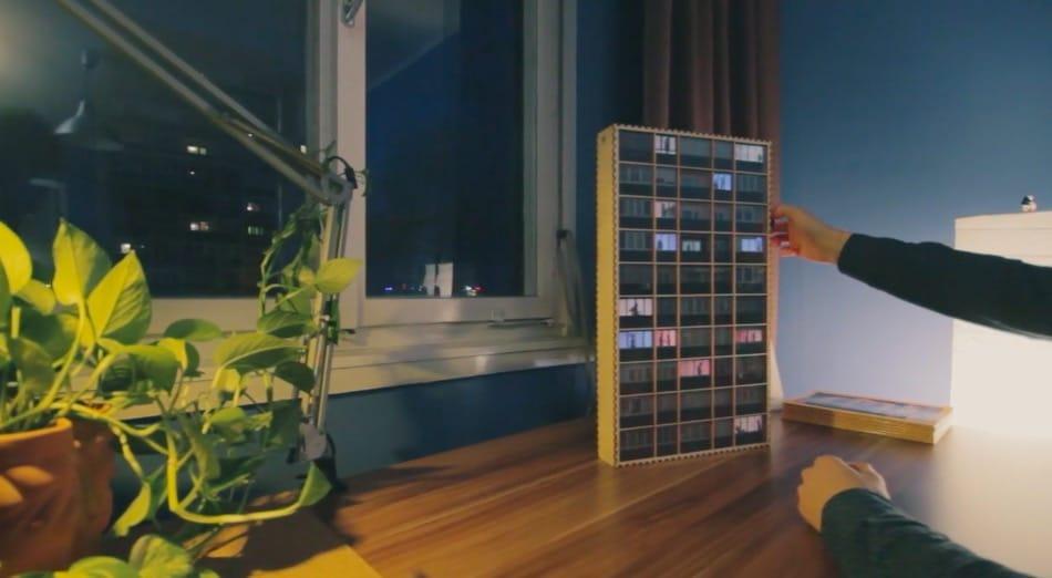 Ein Mini-Hochhaus. Verrückt. (Foto: Screenshot)