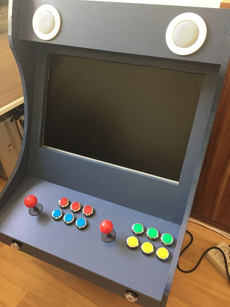 DIY Arcade Spielkonsole: Retro-Automat im Eigenbau für wenig Geld