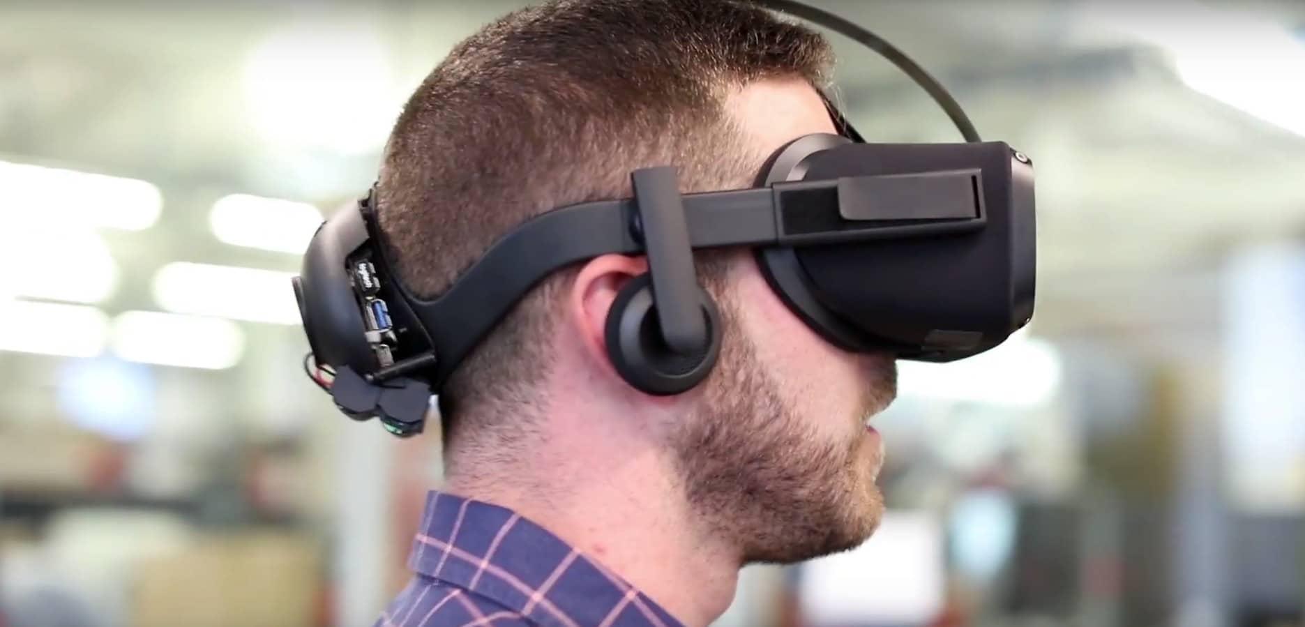 Die Oculus Rift der Zukunft. (Foto: Oculus VR / Screenshot / YouTube)