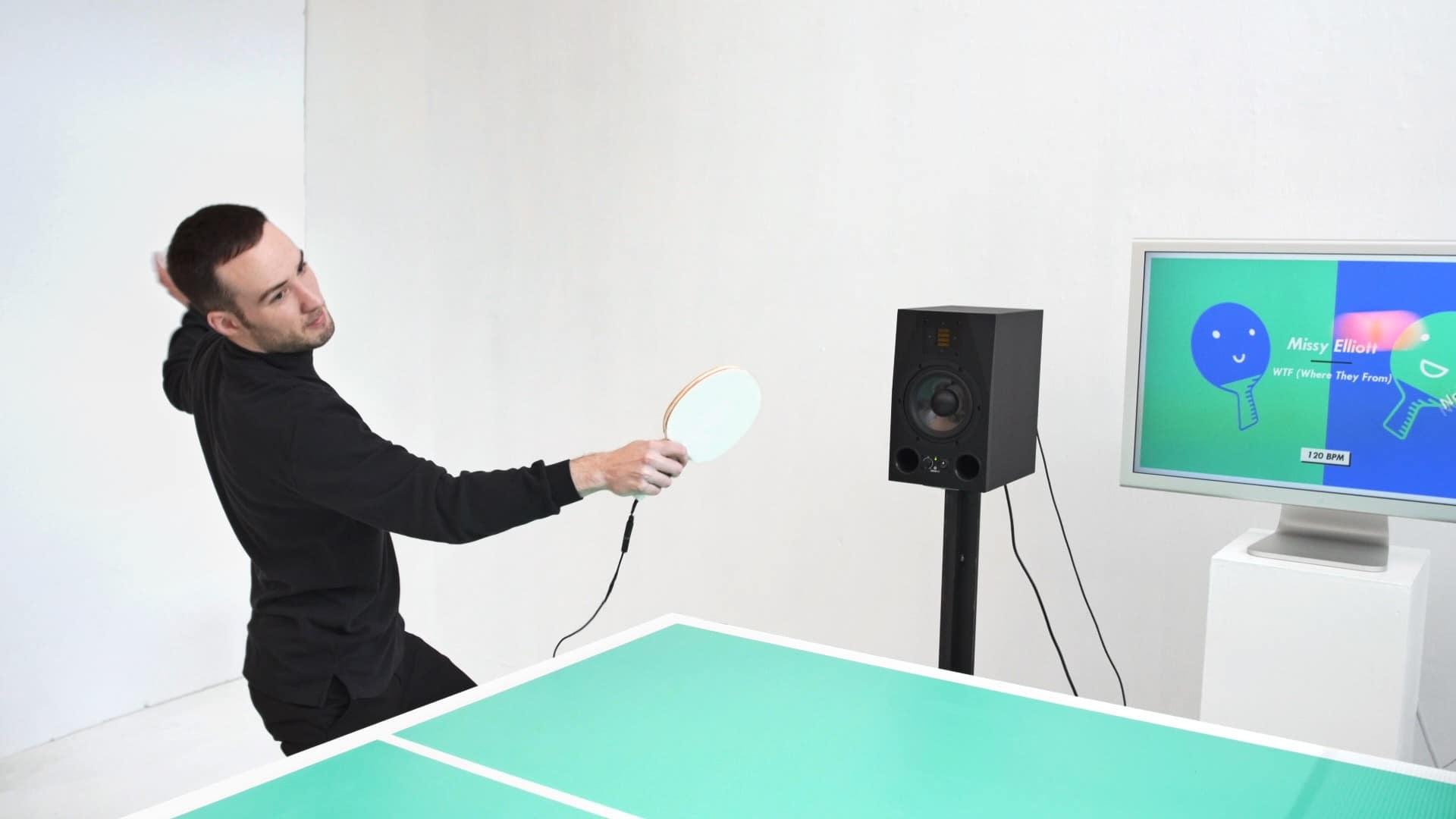 Tischtennis mit Musik. (Foto: Ping Pong FM)