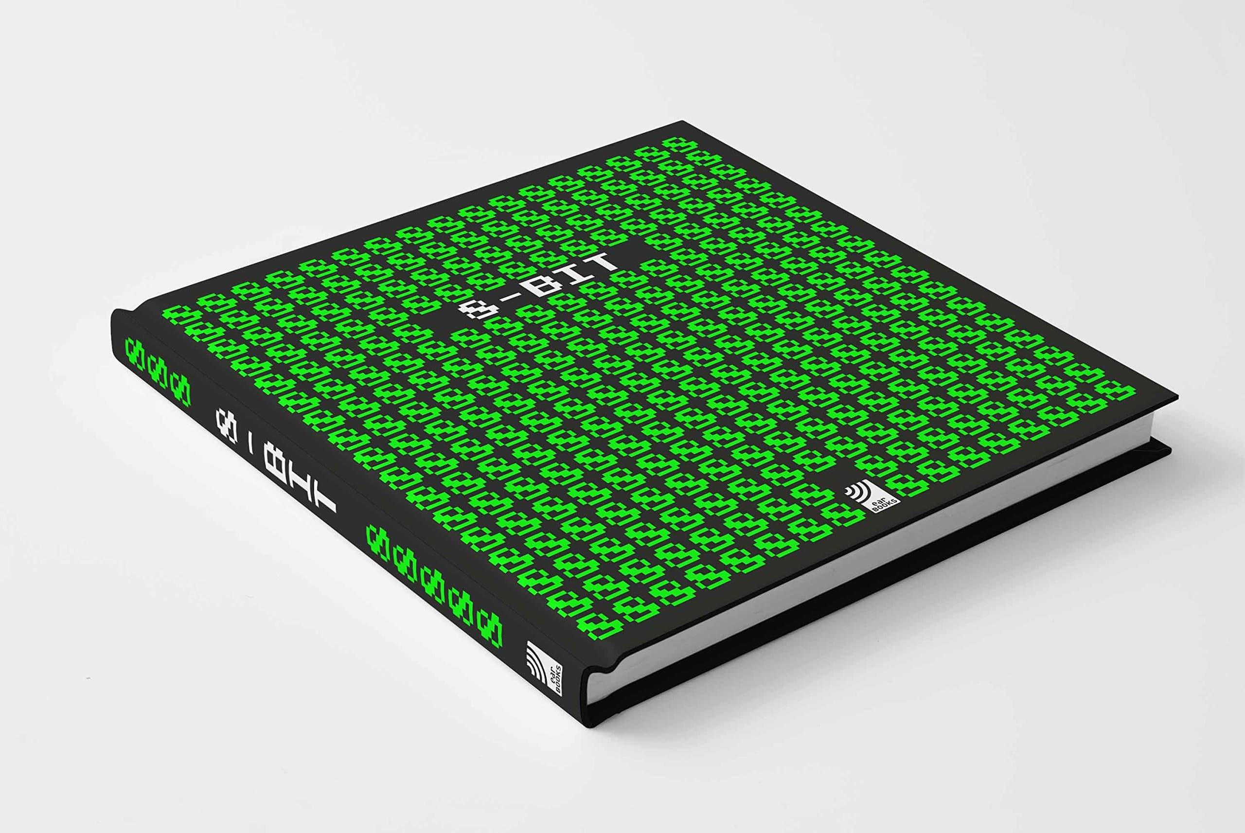 Pixelkunst als Buch. (Foto: Stephan Günzel / earBOOKS)