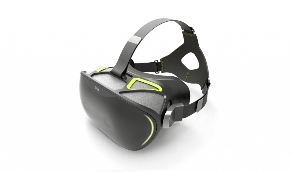 Eine normale VR-Brille? Nicht ganz. (Foto: Stereo Labs)