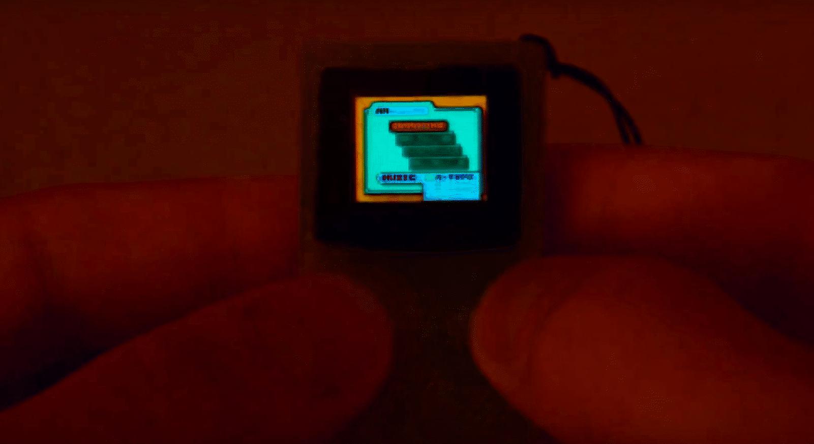 Wow, der ist klein. (Foto: Screenshot)