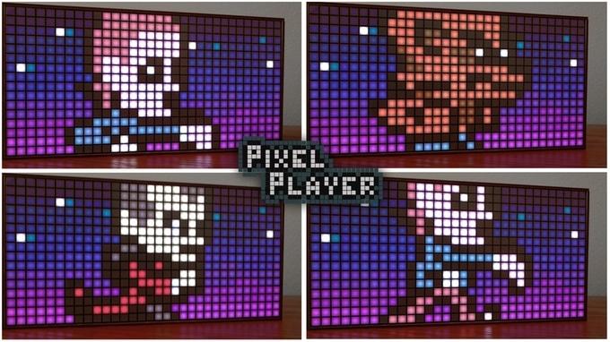 Schicke Pixel Art. (Foto: Stephen Monn)