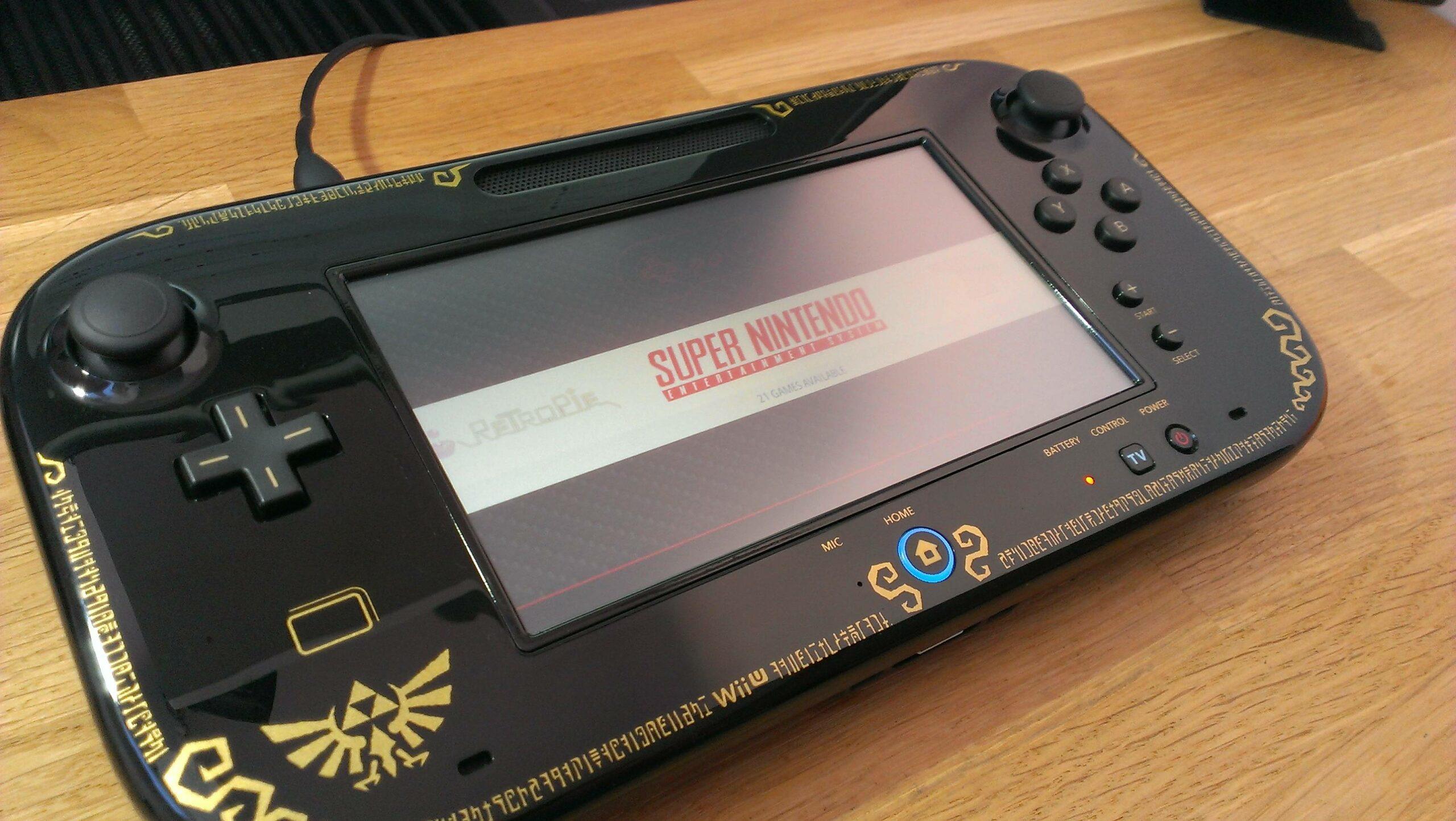 Nintendo Wii U Controller In Eigenst Ndige Handheld