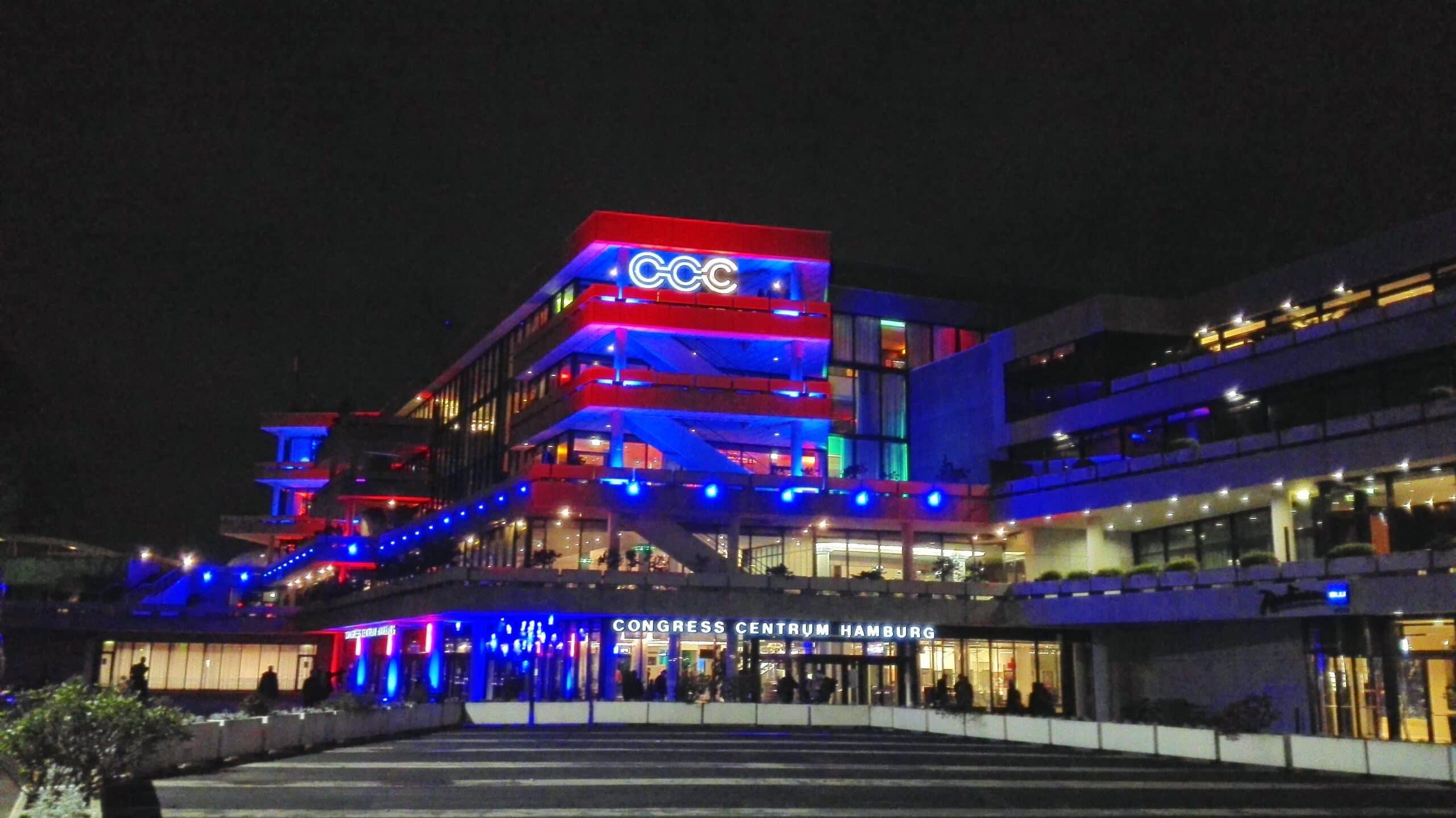 Das Congress Centrum Hamburg beim letztjährigen 32C3. (Foto: Oliver Hermanni)