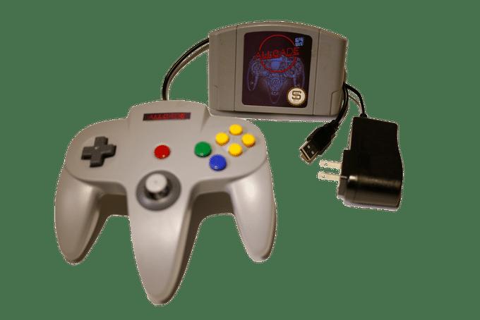 Ein N64-Modul als Spielkonsole. (Foto: MadeBySloan)