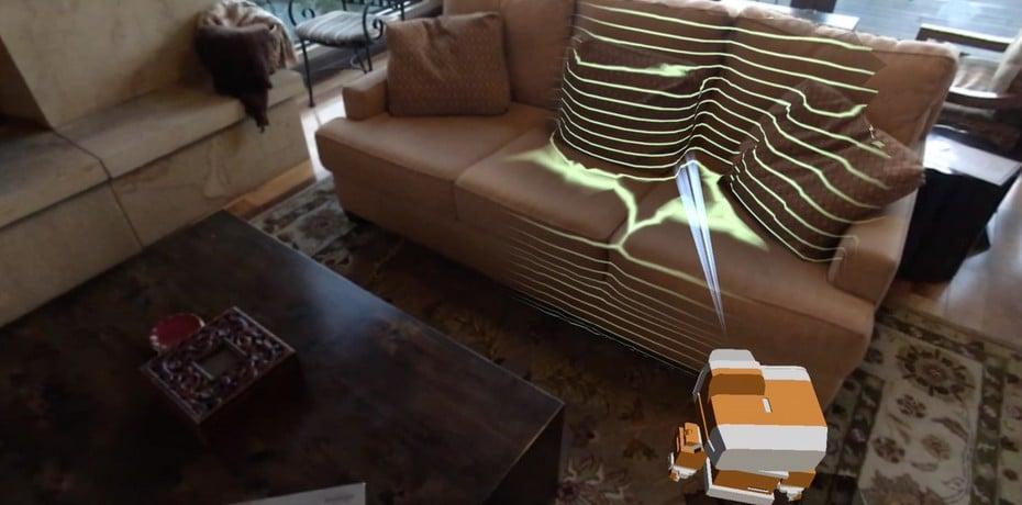 Ein Bot für die Wohnung. Virtuell. (Foto: Occipital)