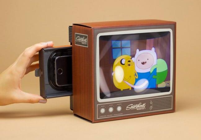 Smartphone Magnifier: Verwandelt euer Handy in einen alten Fernseher