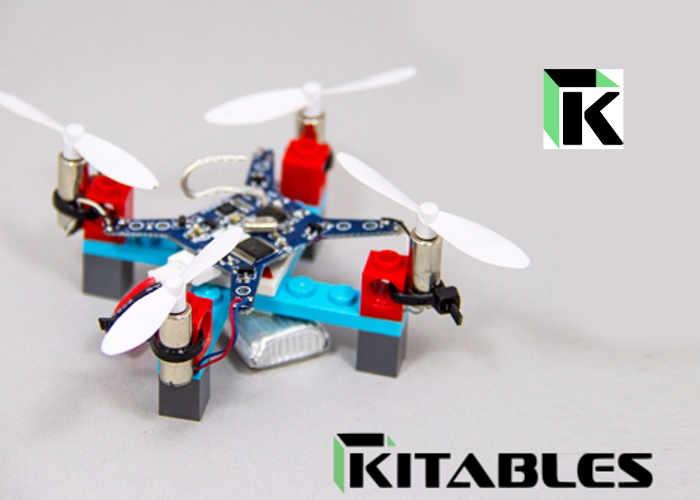 DIY Mini LEGO Drone Kit: Winziger Quadrocopter aus Bauklötzen
