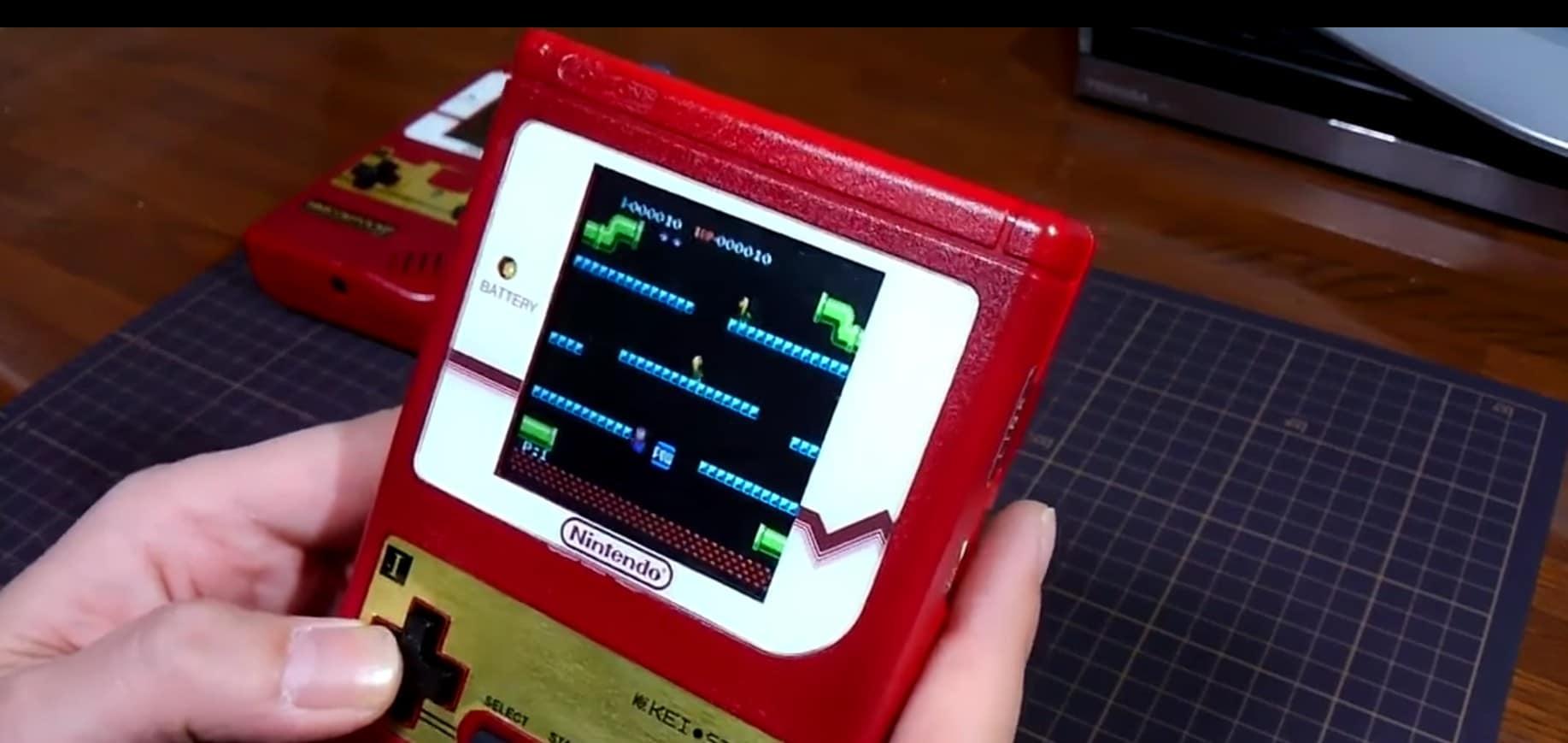 Mini NES Portable: Jetzt gibt's die Konsole auch als Handheld-Version