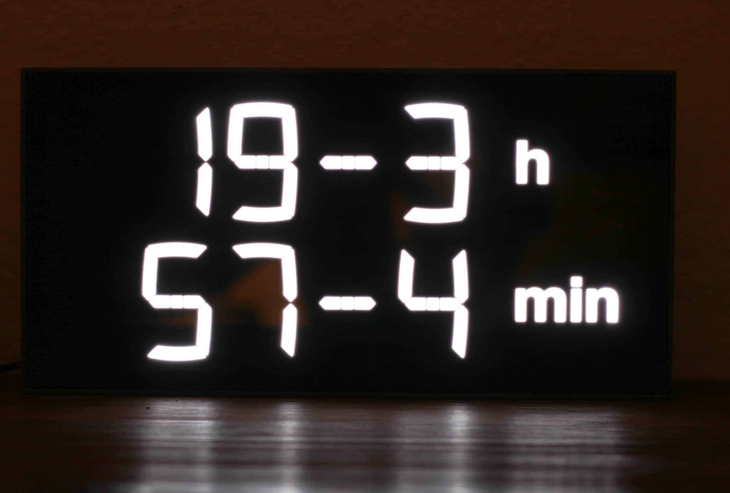 Puh. Wie spät ist es? (Foto: Sven Wernicke)
