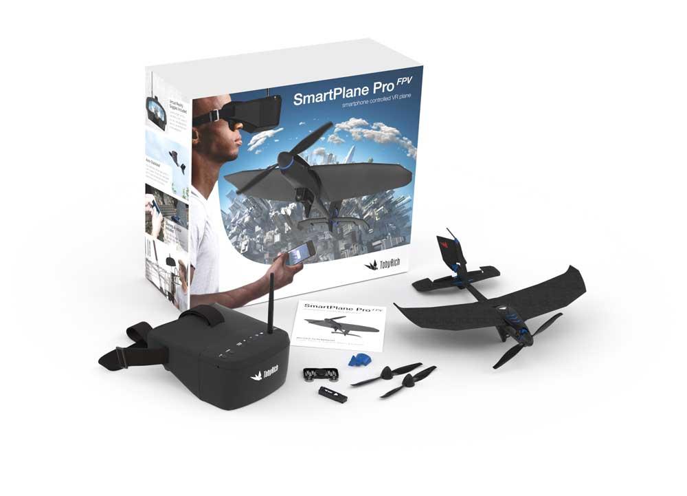 SmartPlane Pro FPV: Betrachtet die Welt aus Sicht eines kleinen Flugzeuges