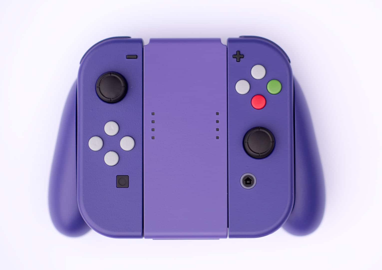 Der Switch-Controller sieht plötzlich so VIOLETT aus...?! (Foto: Boss Fight Props)
