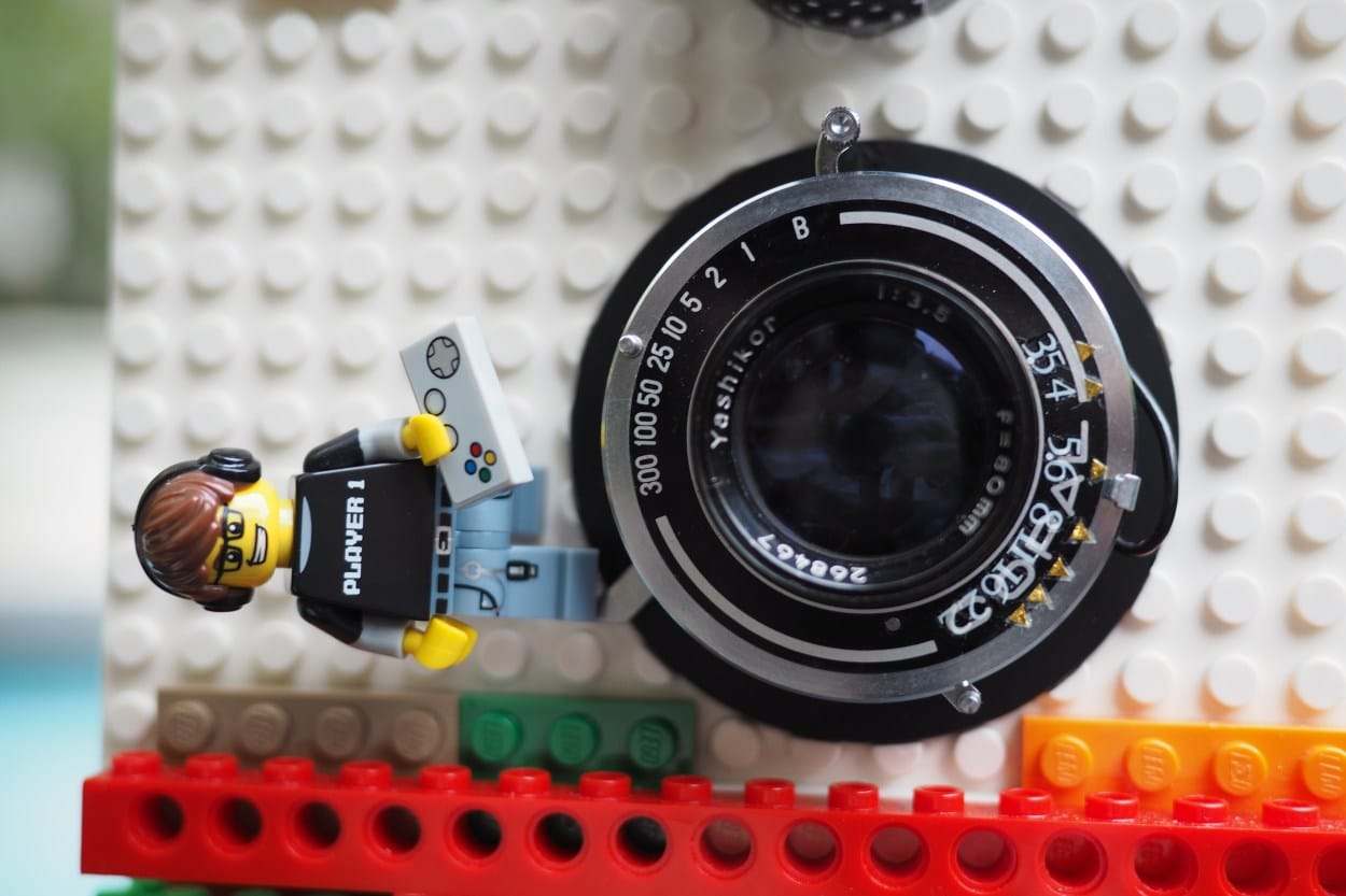 LEGO Instant Camera: Lomografie-Sofortbildkamera aus Bauklötzen