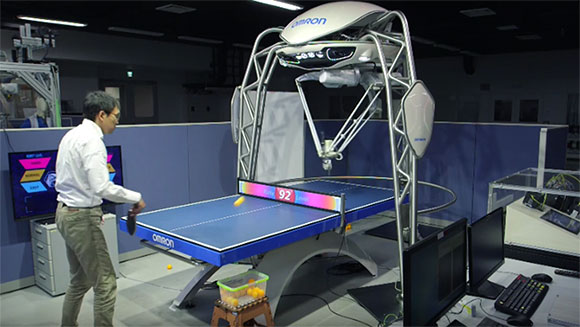 Ein etwas gruseliger Roboter. (Foto: Omron)