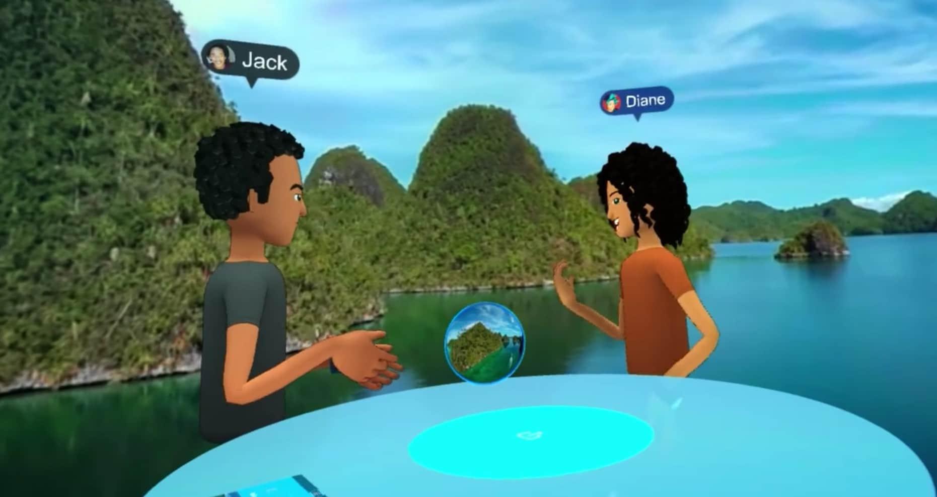 Zusammen virtuelle Abenteuer erleben. (Foto: Facebook / Screenshots)