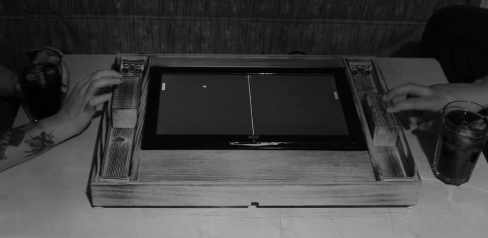 Arduino Pong Konsole: Retro-Maschine aus Holz