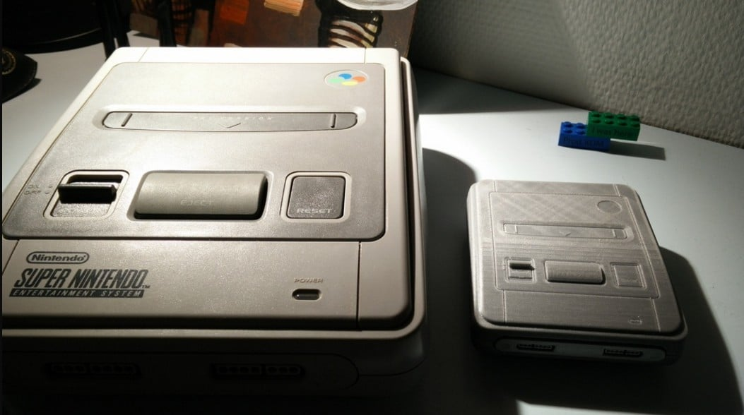 Das SNES Mini gibt es schon jetzt! (Foto: Simon Vitting Rasmussen)