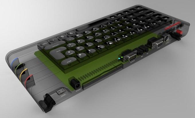 Noch kein finales Design. (Foto: ZX Spectrum Next)
