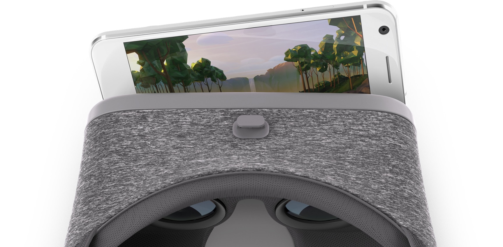 Das Smartphone als Herz einer VR-Brille. Das lohnt sich. (Foto: Google)