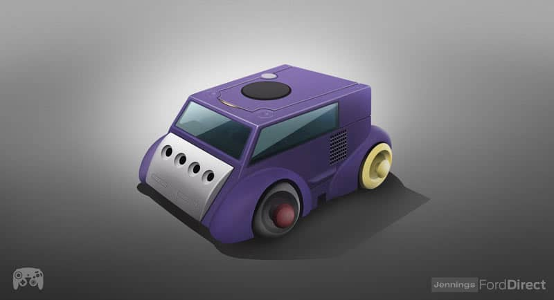 Der Gamecube als Auto? (Foto: Jennings FordDirect)